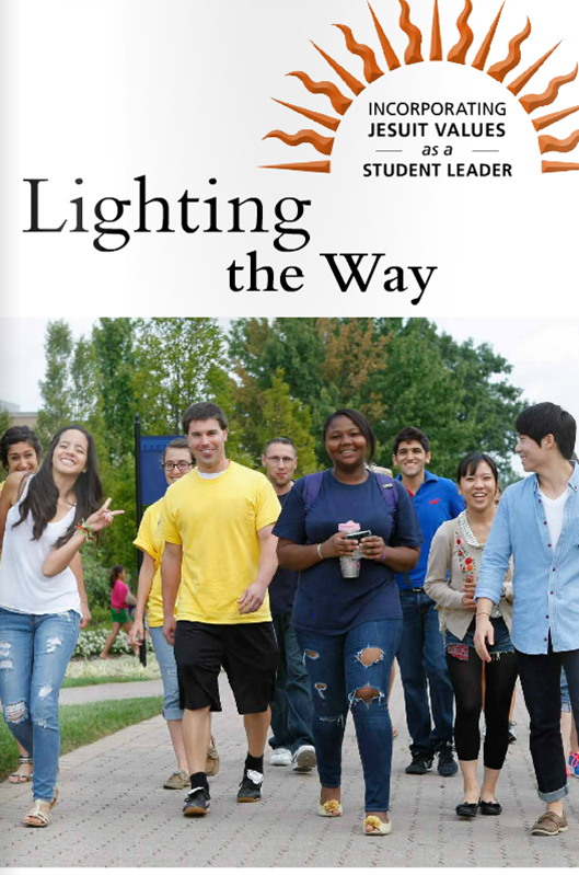 Cover for Lighting the Way for Student Leaders publication