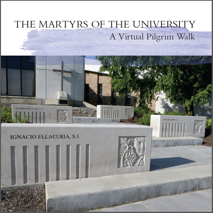 Cover of the Martyrs of the University publication