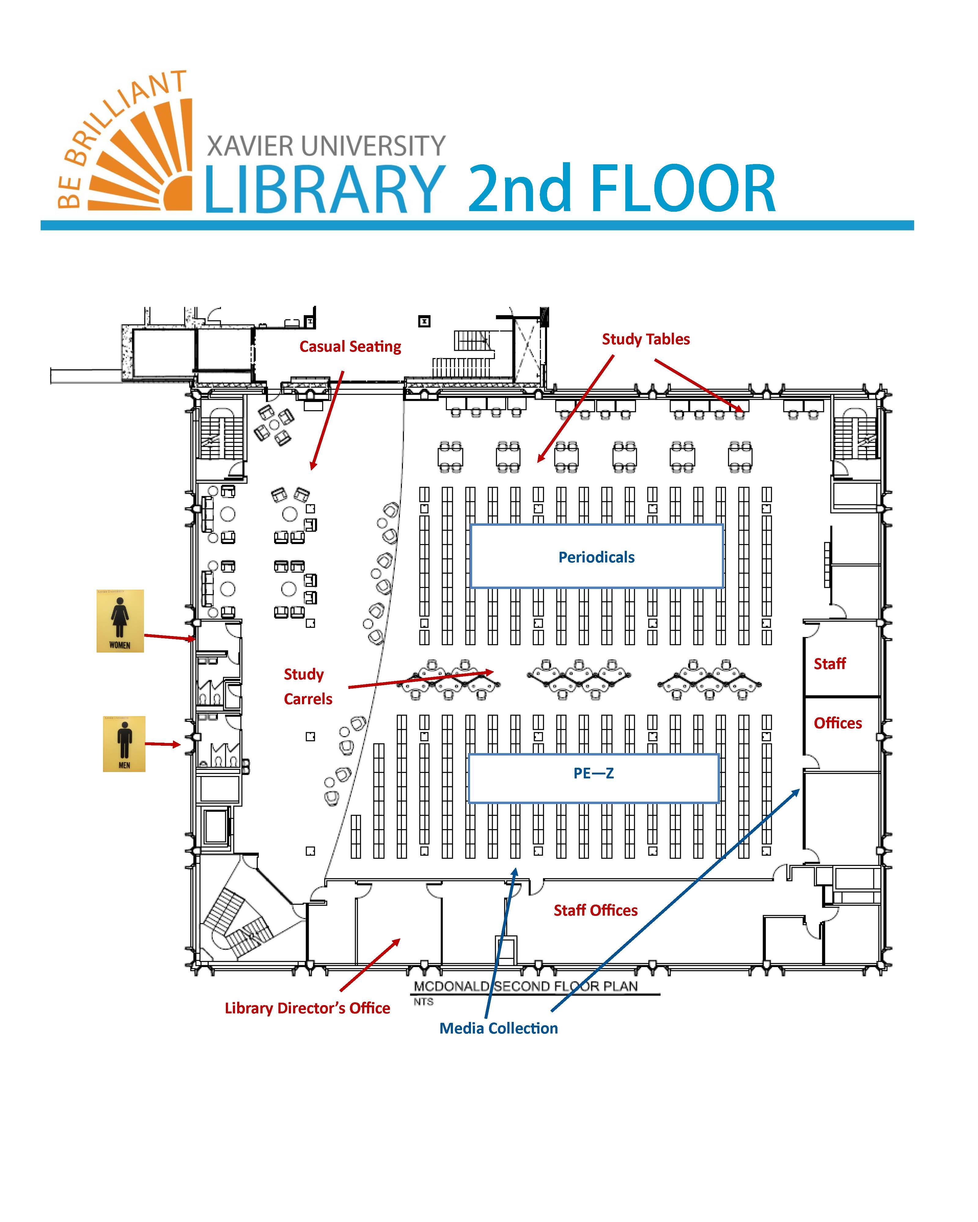 Library floor plans for Deck blueprints online