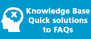 Visit the knowledgebase for frequently asked questions
