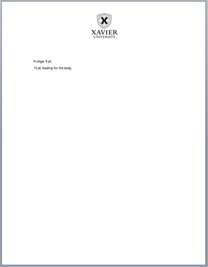 Word templates letterhead our brand office of marketing and word templates letterhead toneelgroepblik Choice Image