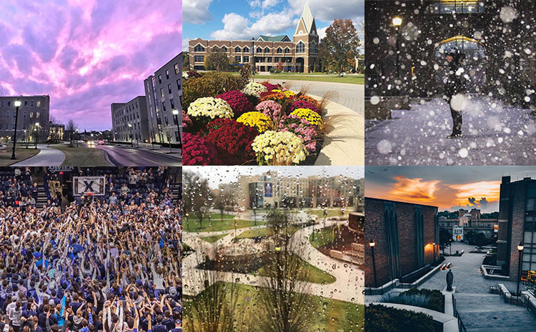 Photo Collage of Campus 2018