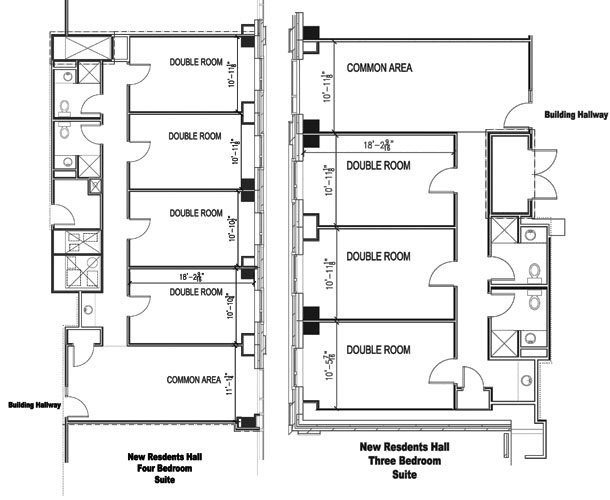 Bishop Fenwick Place on 24 X 48 House Floor Plans