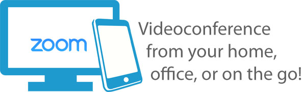 Videoconference from your home, office, or on the go!